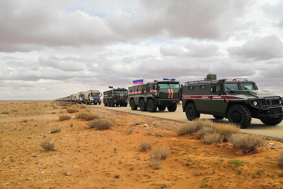 Российский Центр в Сирии готовит эвакуацию людей из лагеря «Рукбан».