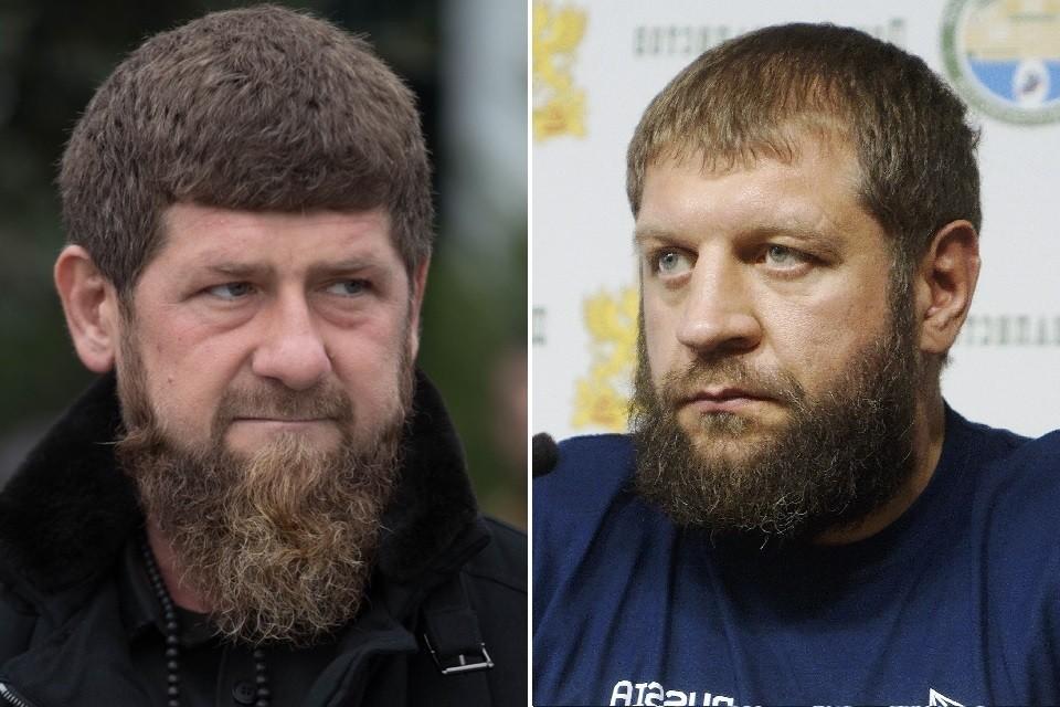 Рамзан Кадыров — единственный авторитет для Александра Емельяненко. Фото: личная страница главы Чечни / Алексей Булатов