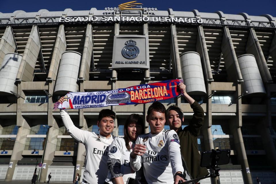 """""""Барселона"""" сыграет сегодня с """"Реалом"""" в Мадриде."""