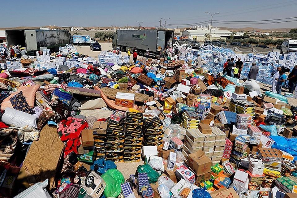 """США сорвали операцию по вывозу беженцев из лагеря """"Рукбан"""""""