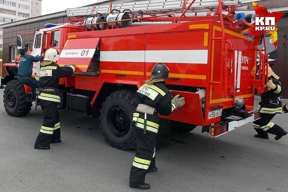 Пожар в здании экспертно-криминалистического центра МВД ликвидирован