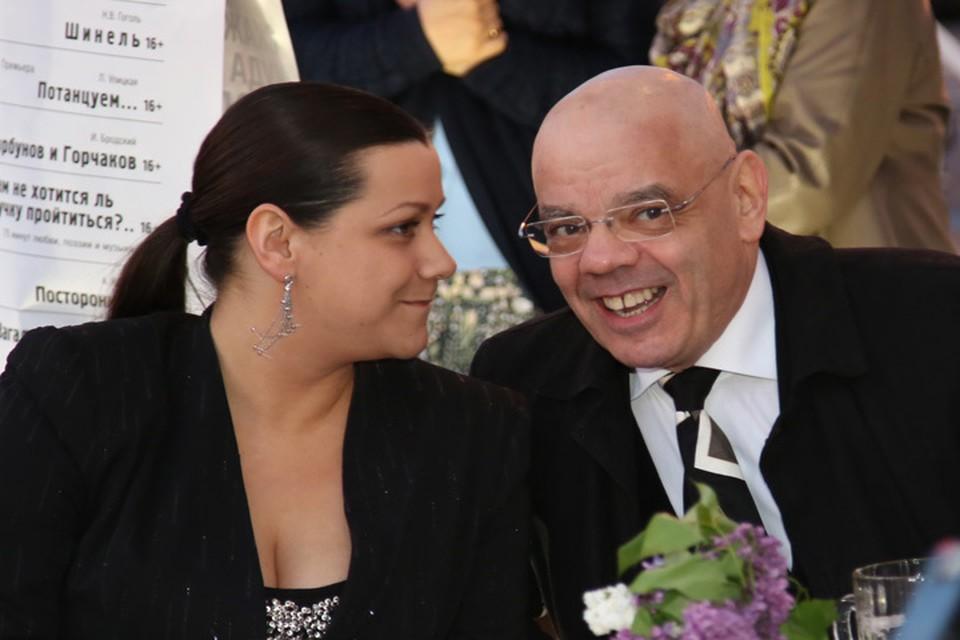 Полина Райкина со своим отцом Константином Райкиным