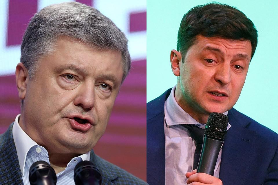 Во втором туре президентских выборов украинцы выберут между Порошенко и Зеленским.