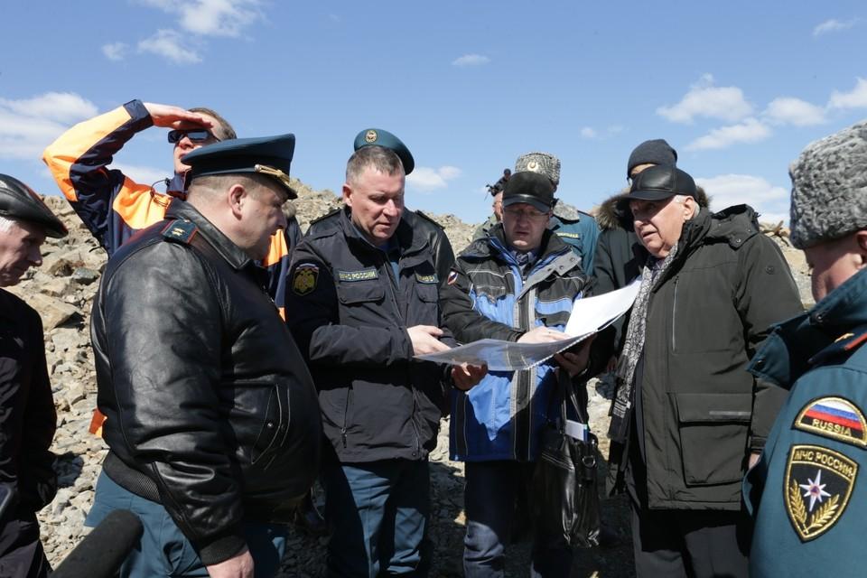 Глава МЧС России посетил «буреинскую аномалию» в Хабаровском крае