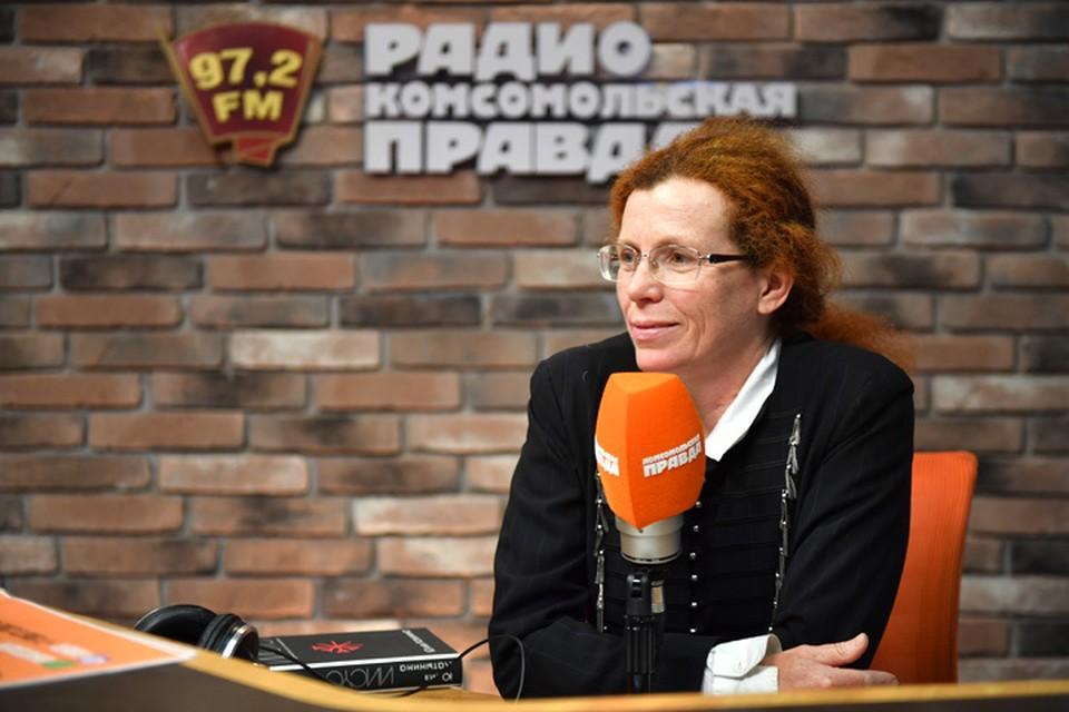 """Публицист Юлия Латынина в гостях у Радио """"Комсомольская правда"""""""