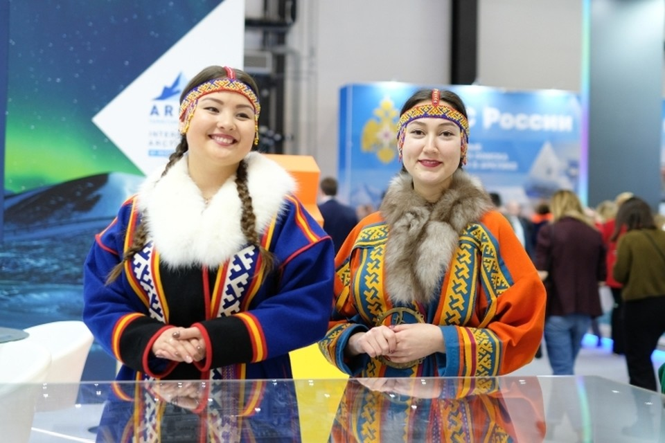 """В работе пятого Международного арктического форума """"Арктика - территория диалога"""" приняли участие 3600 человек."""