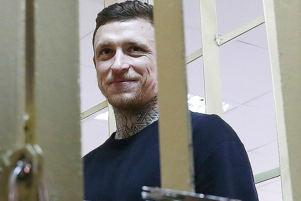 Павел Мамаев перед началом судебного заседания 10 апреля 2019 г. Фото Антон Новодережкин/ТАСС