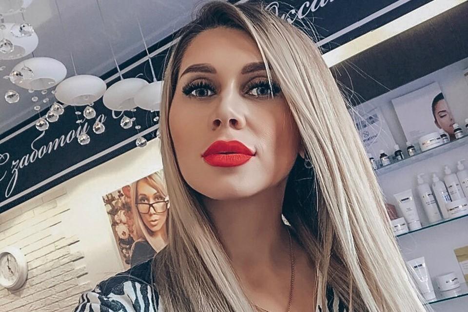 Оксана Зотова — девушка эффектная.