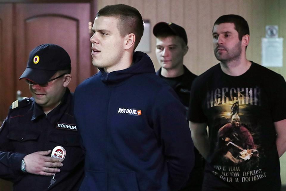 Третий день идут заседания в Пресненском суде по делу Кокорина и Мамаева. Фото: Антон Новодережкин/ТАСС