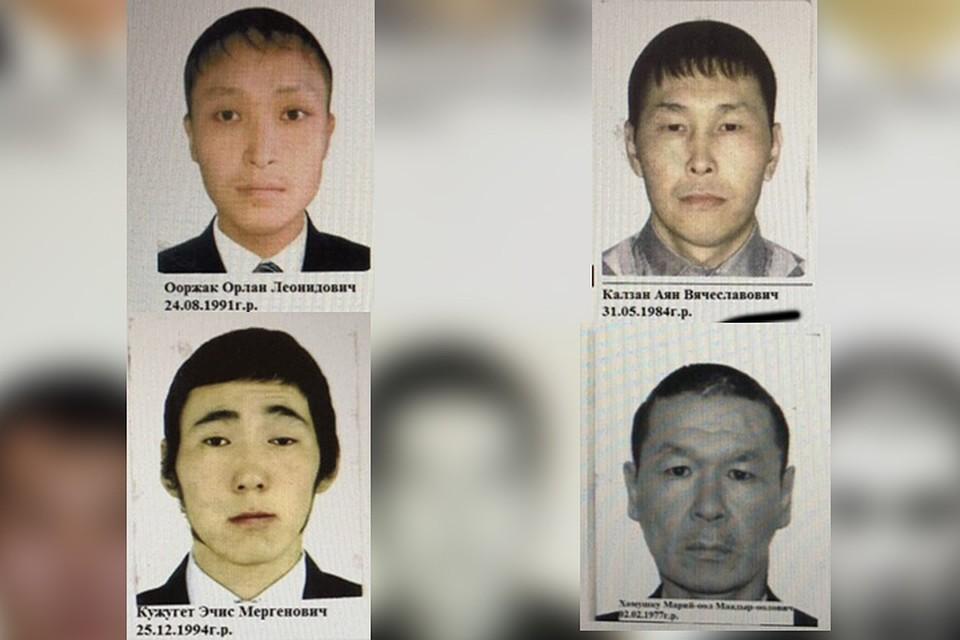 На данный момент задержаны четыре преступника, пятеро остаются на свободе