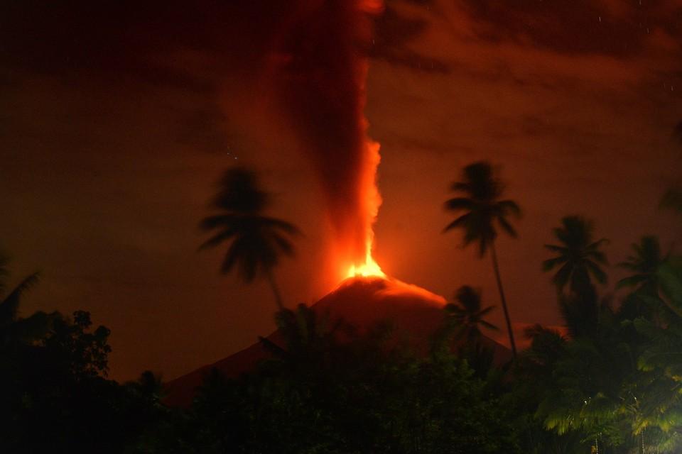 Самое массовое вымирание за всю историю Земли было вызвано извержениями вулканов. Фото: EPA TASS