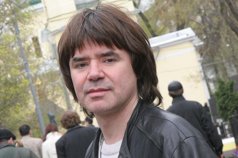 Певец Евгений Осин в 2008 году.