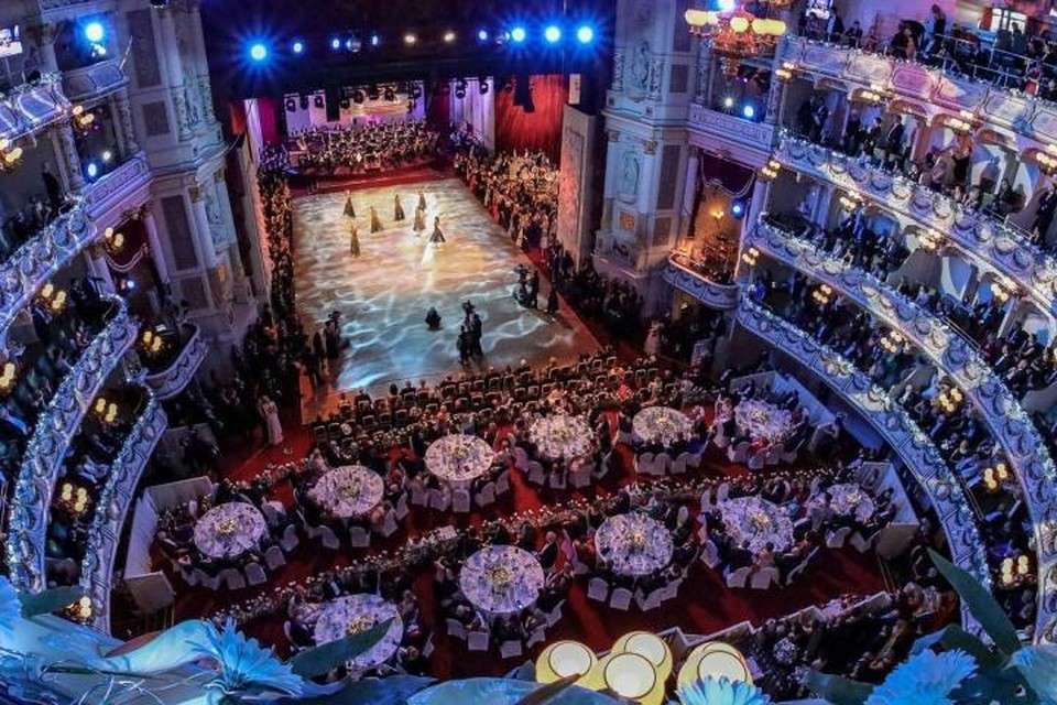 Дрезденский бал входит в десятку лучших балов в мире. Фото:semperopernball