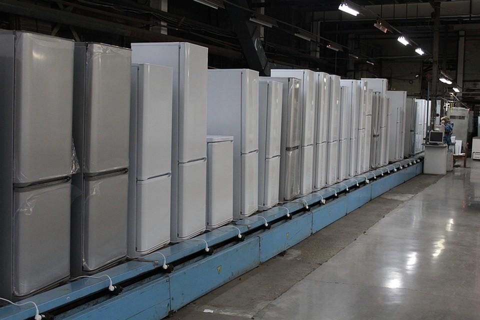 В Красноярске при пожаре на заводе «Бирюса» сгорело 50 тысяч холодильников. Фото: официальный сайт завода холодильников