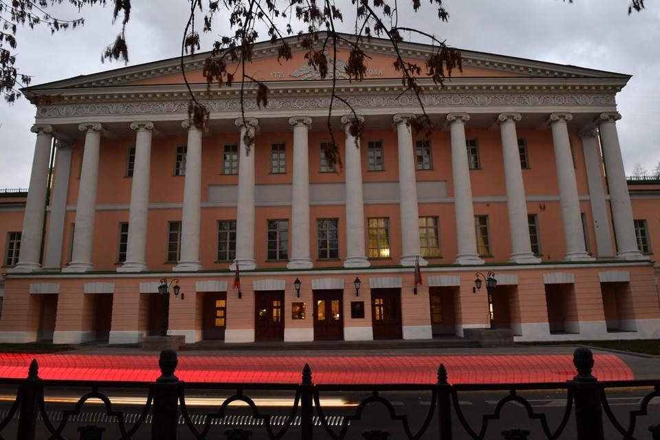 Сейчас Московская городская Дума находится в здании на Страстном бульваре.