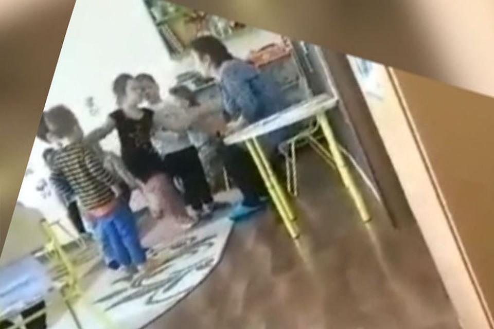 В детсаду в Ниспоренах воспитательница обзывала и била детей (видео)