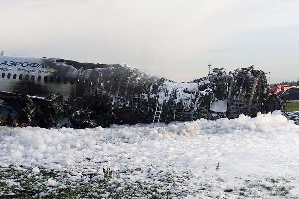 Опубликован список людей, погибших при пожаре в самолете в аэропорту Шереметьево