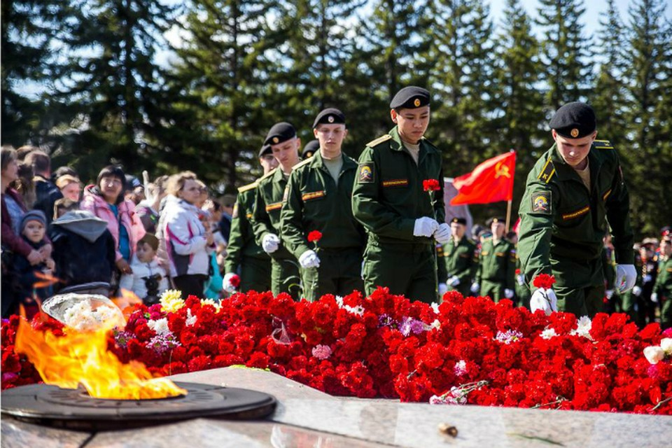 День Победы 9 мая 2019 года в Омске