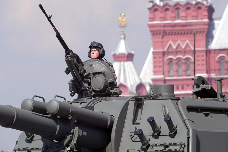 На Красной площади состоялась генеральная репетиция Парада Победы.