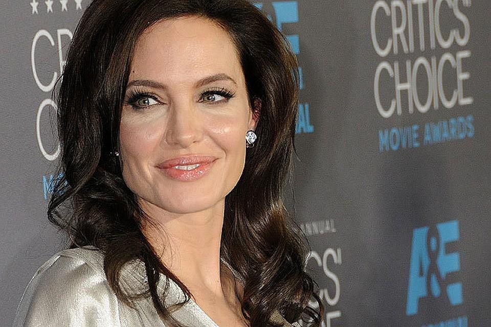 Анджелина Джоли в последнее время очень редко снимается в кино
