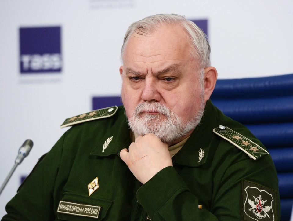 Генерал-майор Александр Кирилин. Фото: Николай Галкин/ТАСС