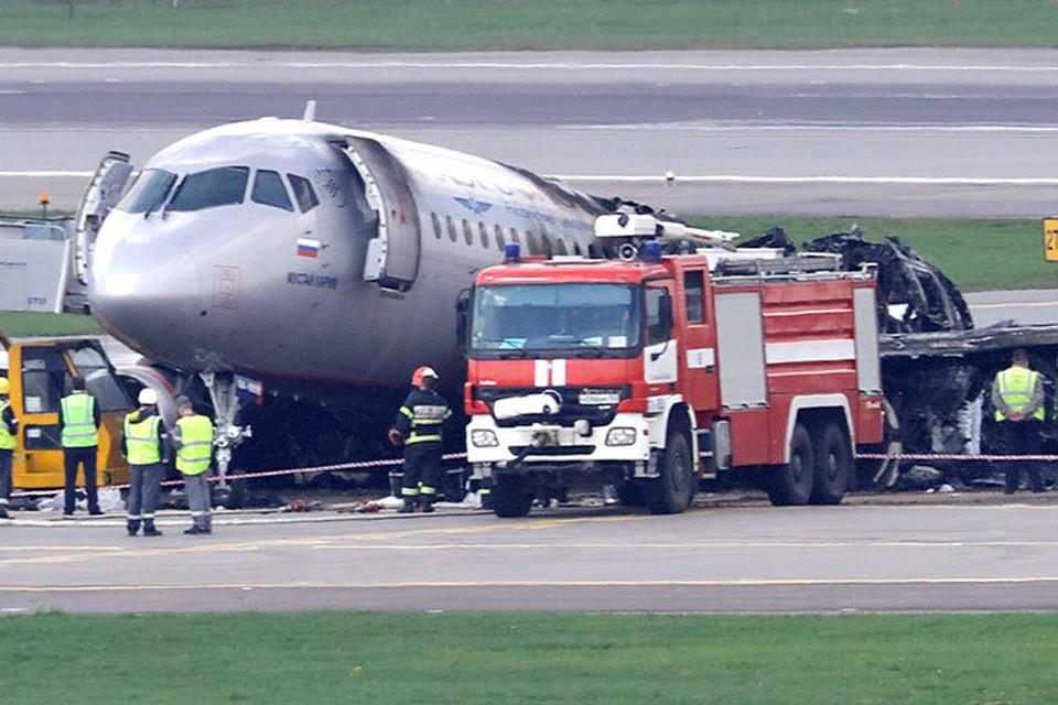 В Москве продолжается расследование авиакатастрофы «Суперджета 100»