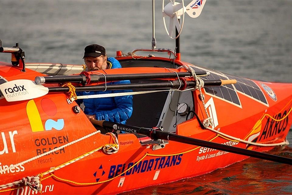 Федор Конюхов на протяжении 154 дней бороздил просторы Южного океана. Фото: konyukhov.ru