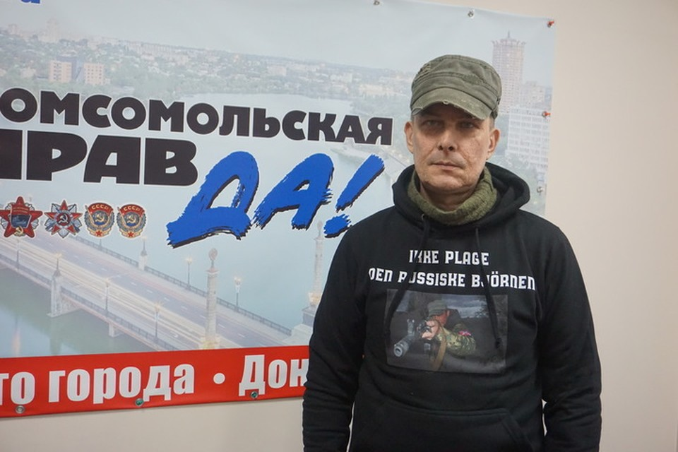 О том, что война будет Дубовой понял в декабре 2013 года, именно тогда полетели первые коктейли Молотова.