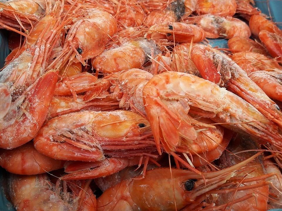 Россельхознадзор обнаружил мышьяк в креветках из Индии