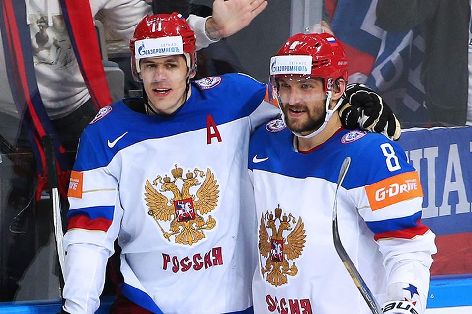 Малкин и Овечкин по очереди заявили, что не хотят играть друг с другом в одном звене. Фото: Валерий Шарифулин/ТАСС