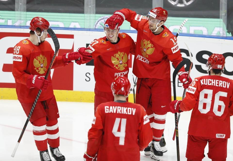 Россия сыграла с Чехией в матче за 3-е место на чемпионате мира 2019.