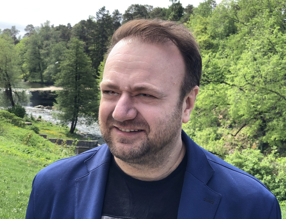 Владимир ЧЕРНЫШЁВ - гость международного медиа-клуба «Импрессум» в мае 2019.