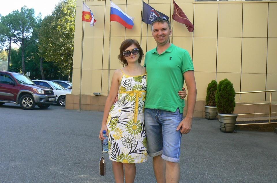 Супруги Платуновы. Фото с личной страницы Натальи в соцсети
