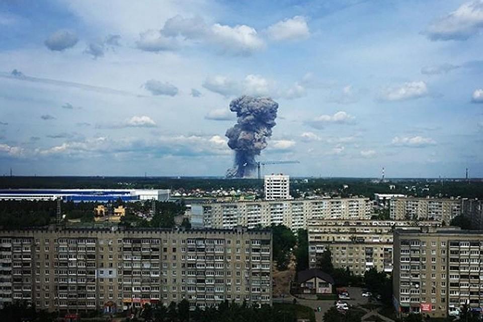 Взрыв прогремел на заводе в Дзержинске