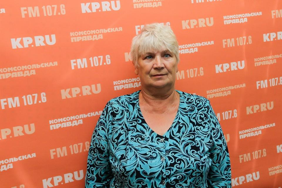Ольга Залазаева, председатель Союза садоводческих товариществ