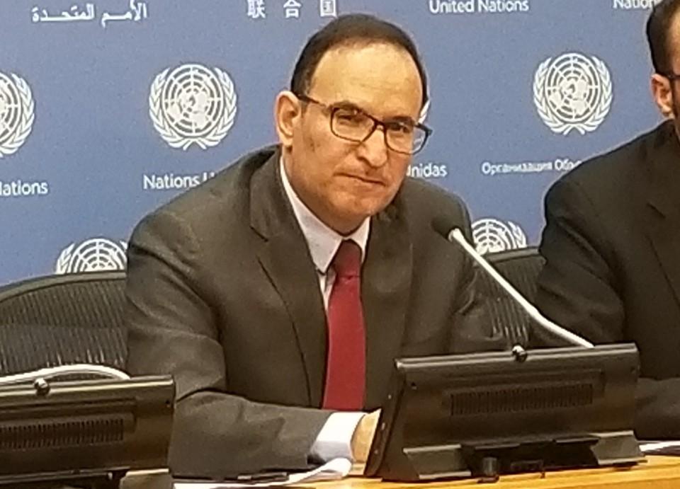 Постпред Кувейта при ООН Мансур Айяд аль-Атайби.