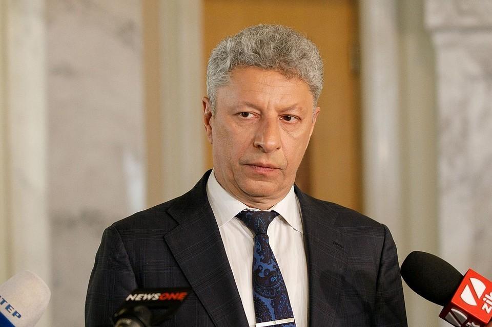 Лидер партии «Оппозиционная платформа – За жизнь» Юрий Бойко