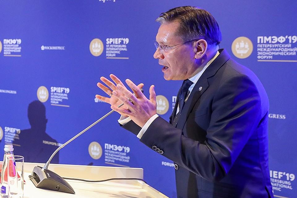 Алексей Лихачев генеральный директор Государственной корпорации по атомной энергии «Росатом»