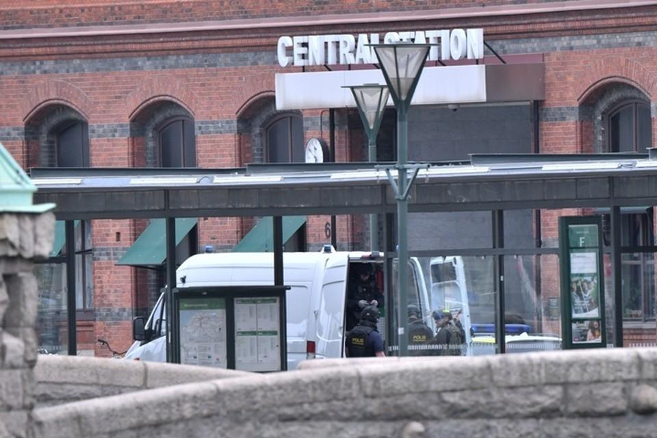 Мужчина угрожал устроить взрыв на центральном вокзале в шведском городе Мальмё