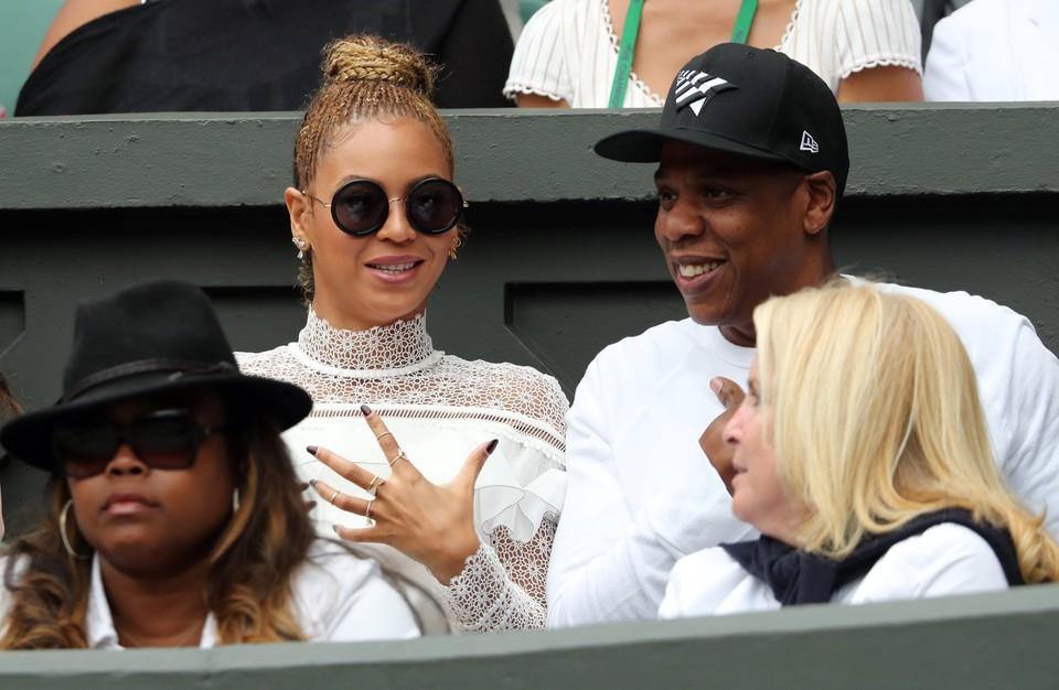 Jay-Z и его жена Бейонсе