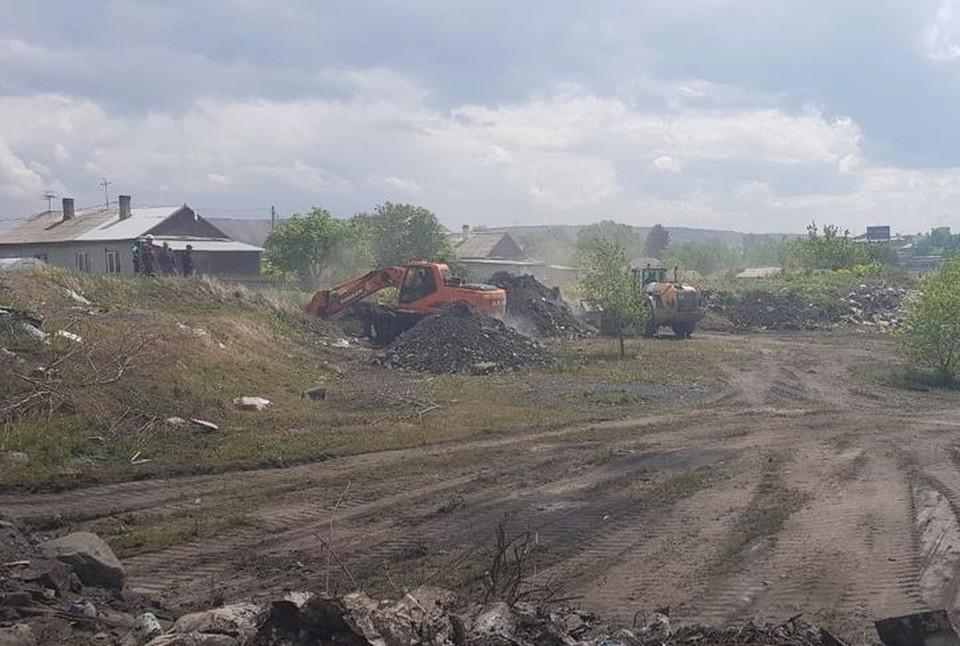 Просивших убежища в Канаде кузбассовцев переселят из района подземных пожаров. ФОТО: администрация Киселевского городского округа