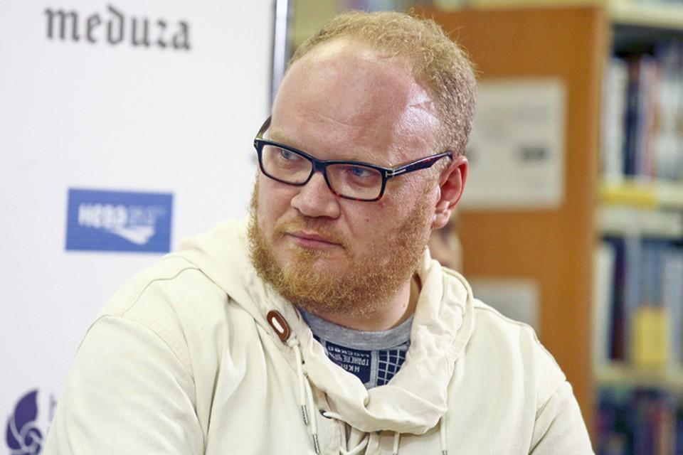 Олег Кашин. Фото: Евгений Степанов/ТАСС