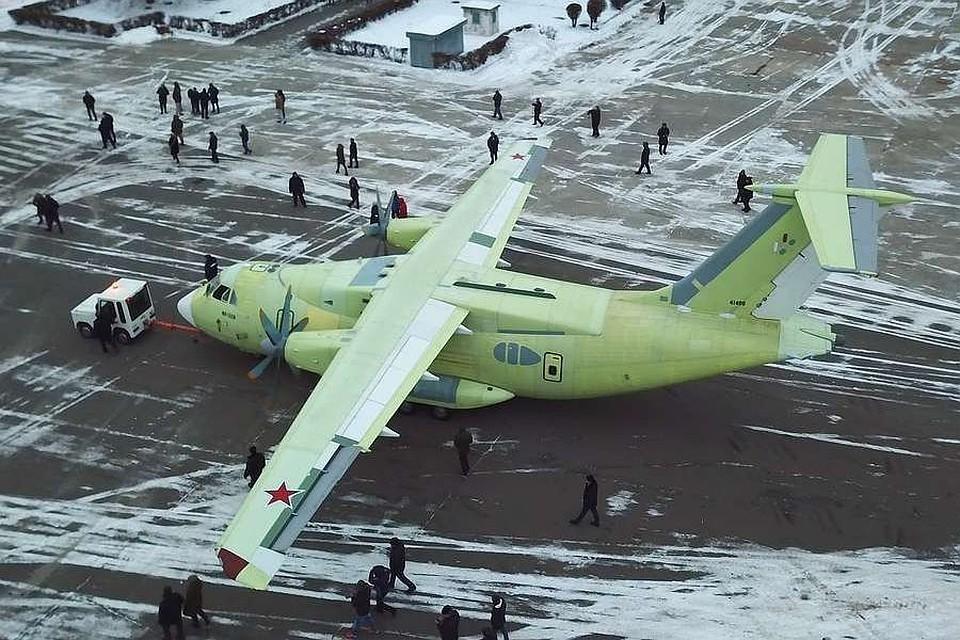 Российский самолет Ил-112В. Фото: Артур Саркисян/ТАСС