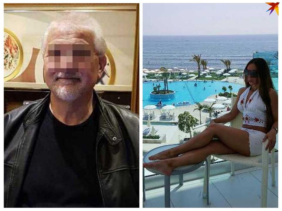 Этот человек (на фото слева), по словам потерпевшей (на фото справа), пытался ее убить.