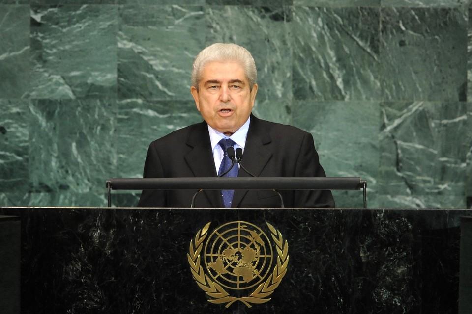 Бывший президент Кипра Димитрис Христофиас