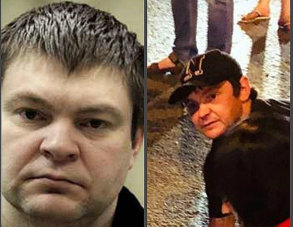 Слева - Сергей Цапок, справа - предполагаемый главарь банды\ФОТО: Коллаж Евгения ОСТРАЯ