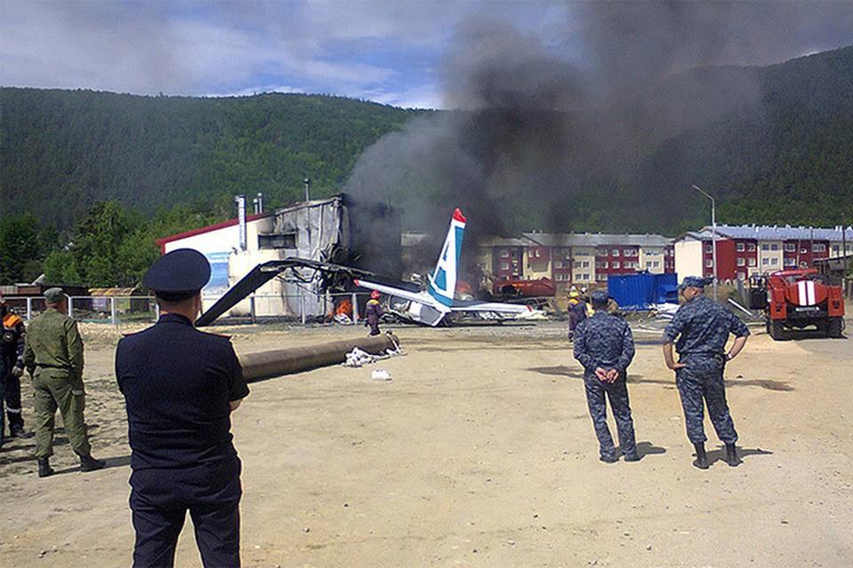 Авиакатастрофа в Бурятии