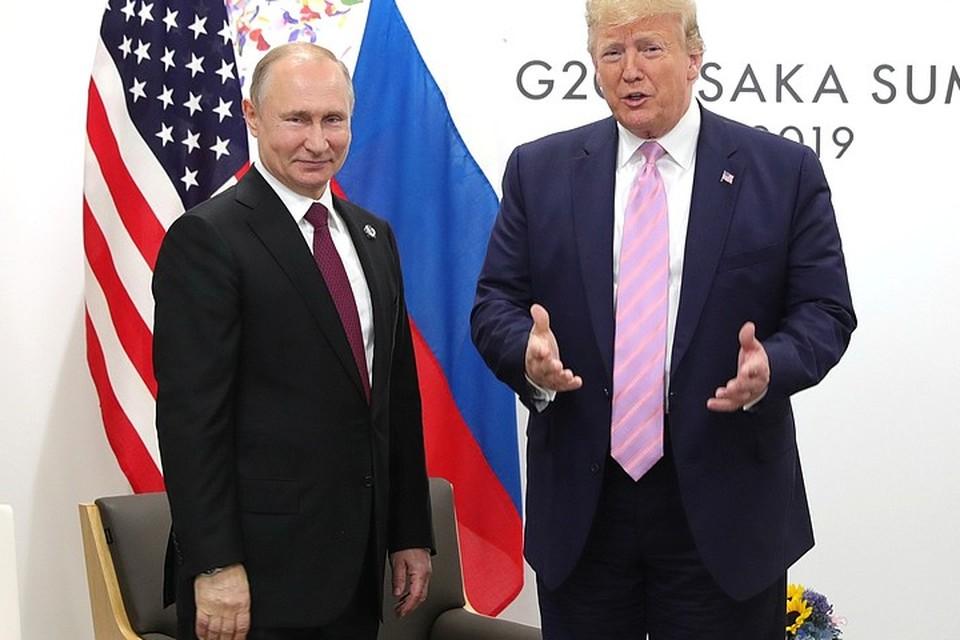 Встреча Путина и Трампа на полях G20 в Осаке завершилась. Фото: сайт Кремля