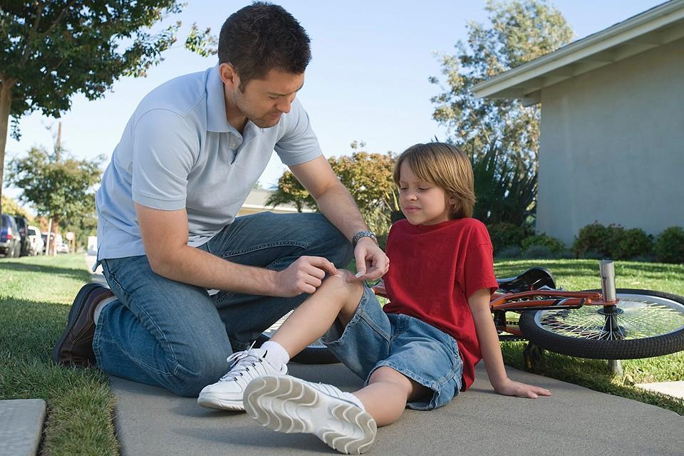 На первом месте в классификации детских травм - полученные в быту.