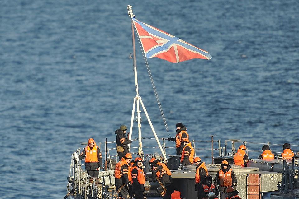 В Баренцевом море при пожаре на научно-исследовательском глубоководном аппарате погибли 14 военных моряков.